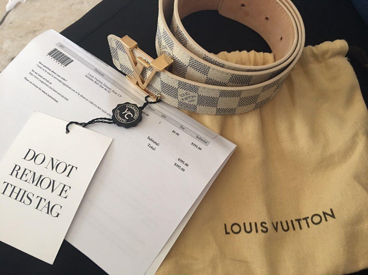 Louis Vuitton Belt PRICE DROP