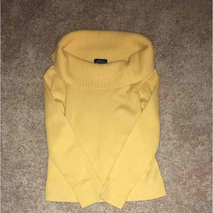 Yellow 100% cashmere sweater - Mercari: BUY & SELL THINGS YOU LOVE