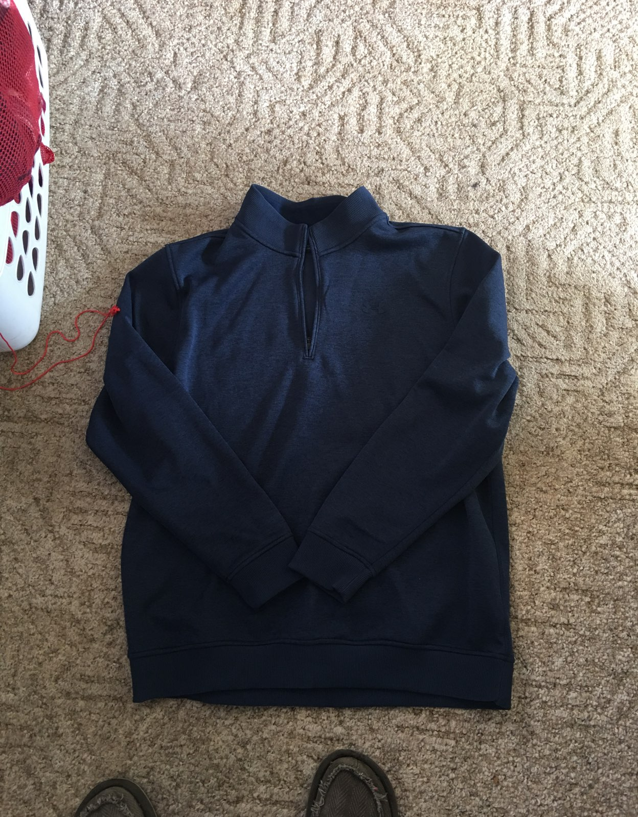 1/4 ZIP Underarmour Cold gear Pull Over