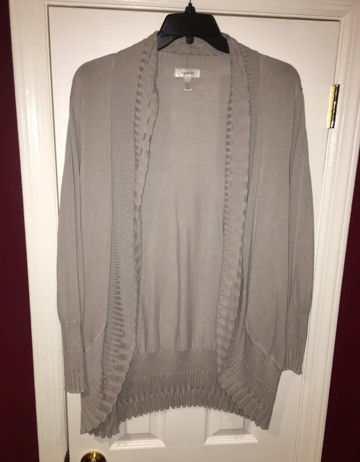 Beige/Tan Long sleeve Cardigan - Mercari: BUY & SELL THINGS YOU LOVE
