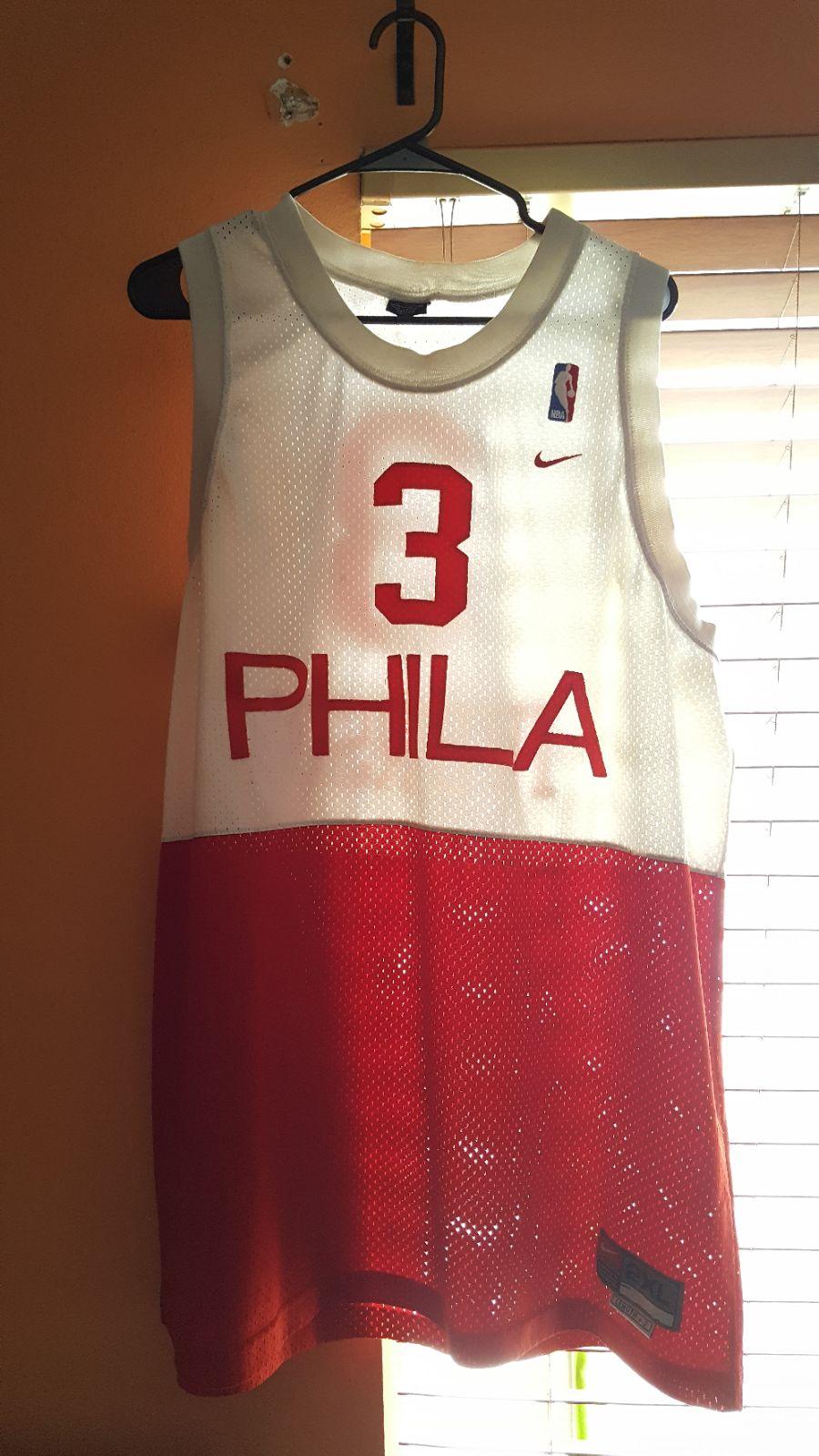 Iverson Philadelphia Jersey