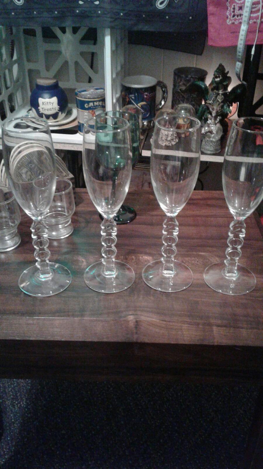 2001 Wine glasses