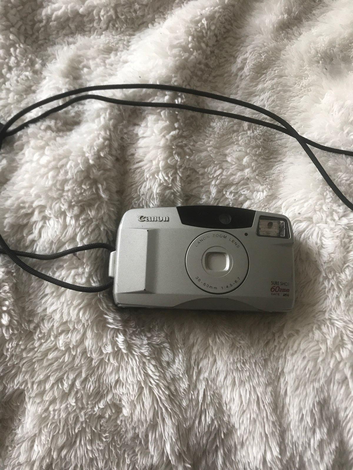 Canon Sure Shot 60 Zoom film camera