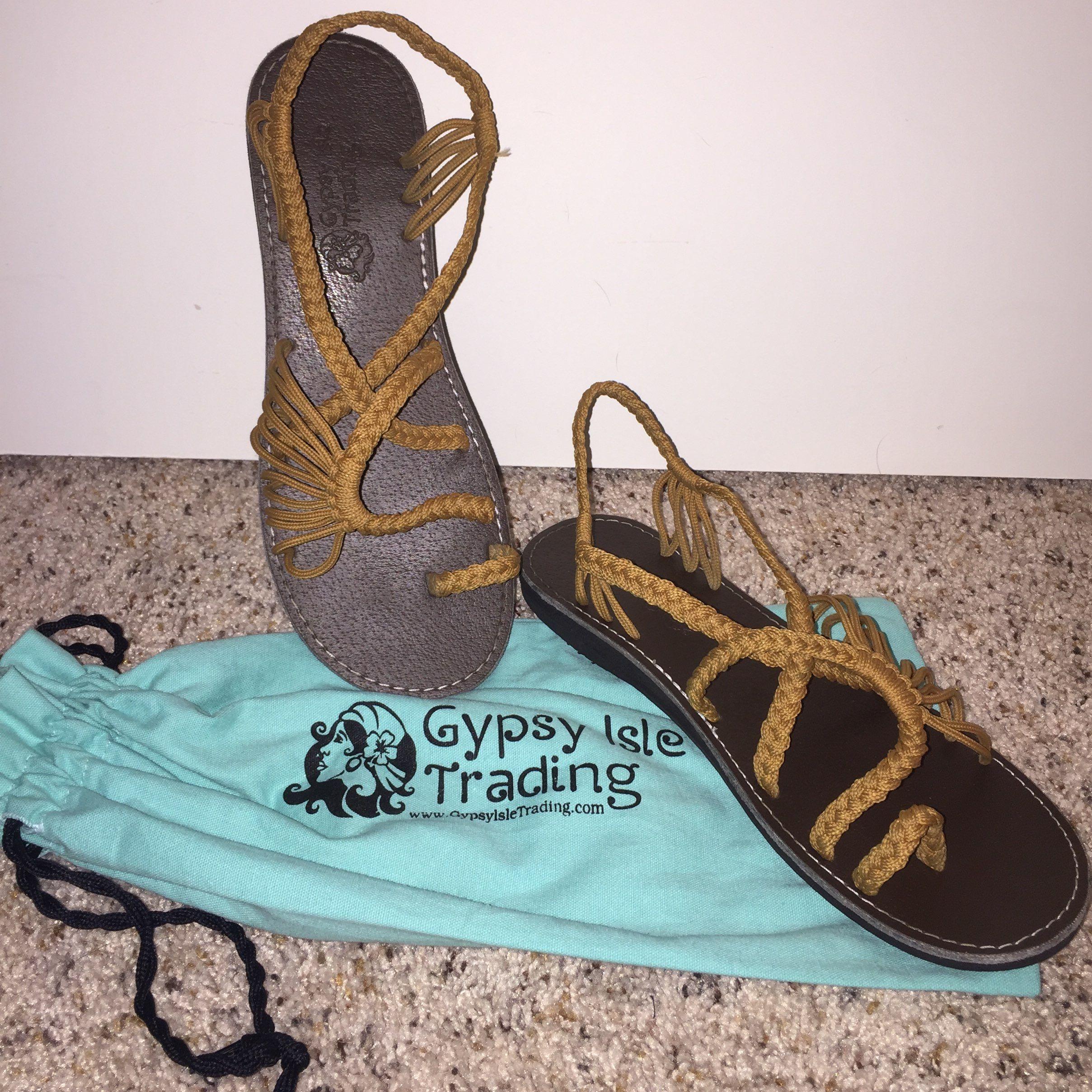 Boho Sandals - GypsyIsleTradingCo