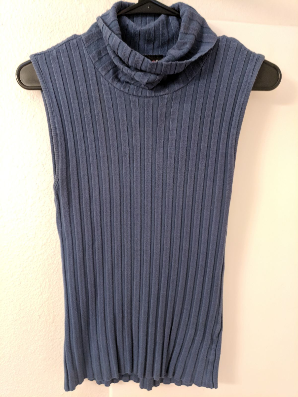 Gray Blue Sweater Vest - Mercari: BUY & SELL THINGS YOU LOVE
