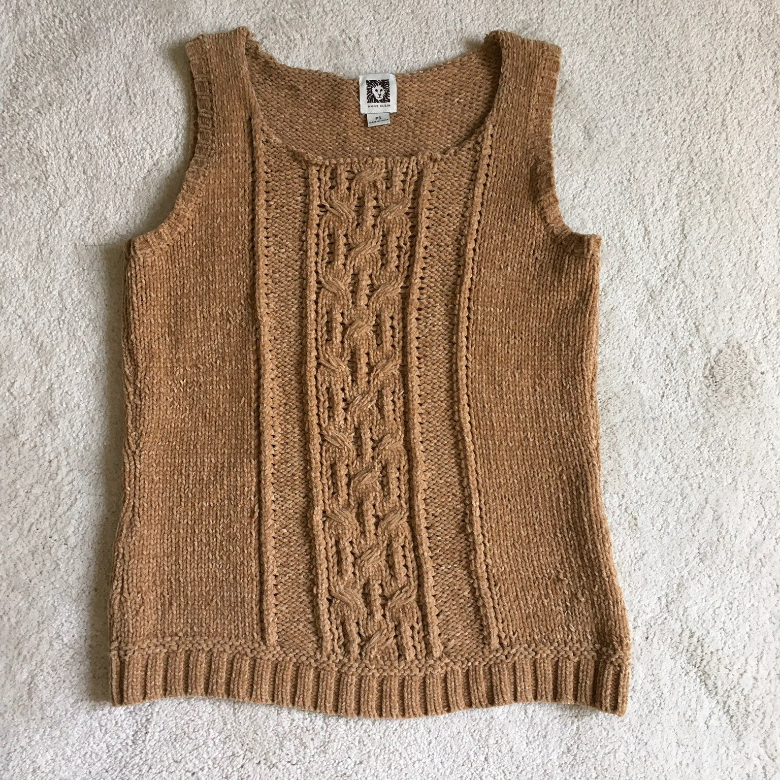 Anne Klein Crew Neck Sweater Vest - Mercari: BUY & SELL THINGS YOU ...