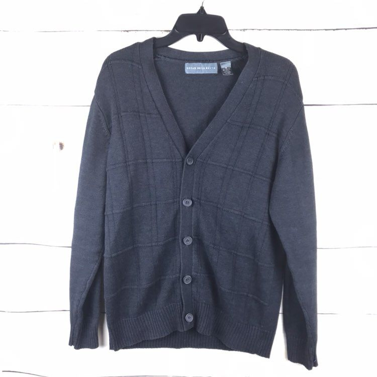 Oscar De La Renta Button Down Cardigan