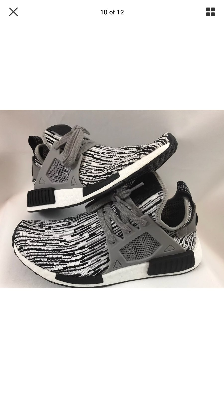 Adidas NMD R2 PK Black white Not R1 XR1 EQT Ultra boost