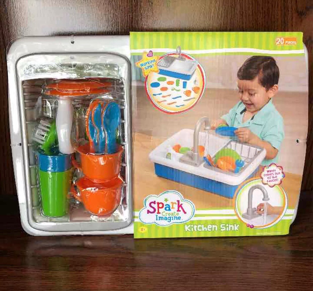 Spark Kitchen Sink Toy New In Box - Mercari: The Selling App