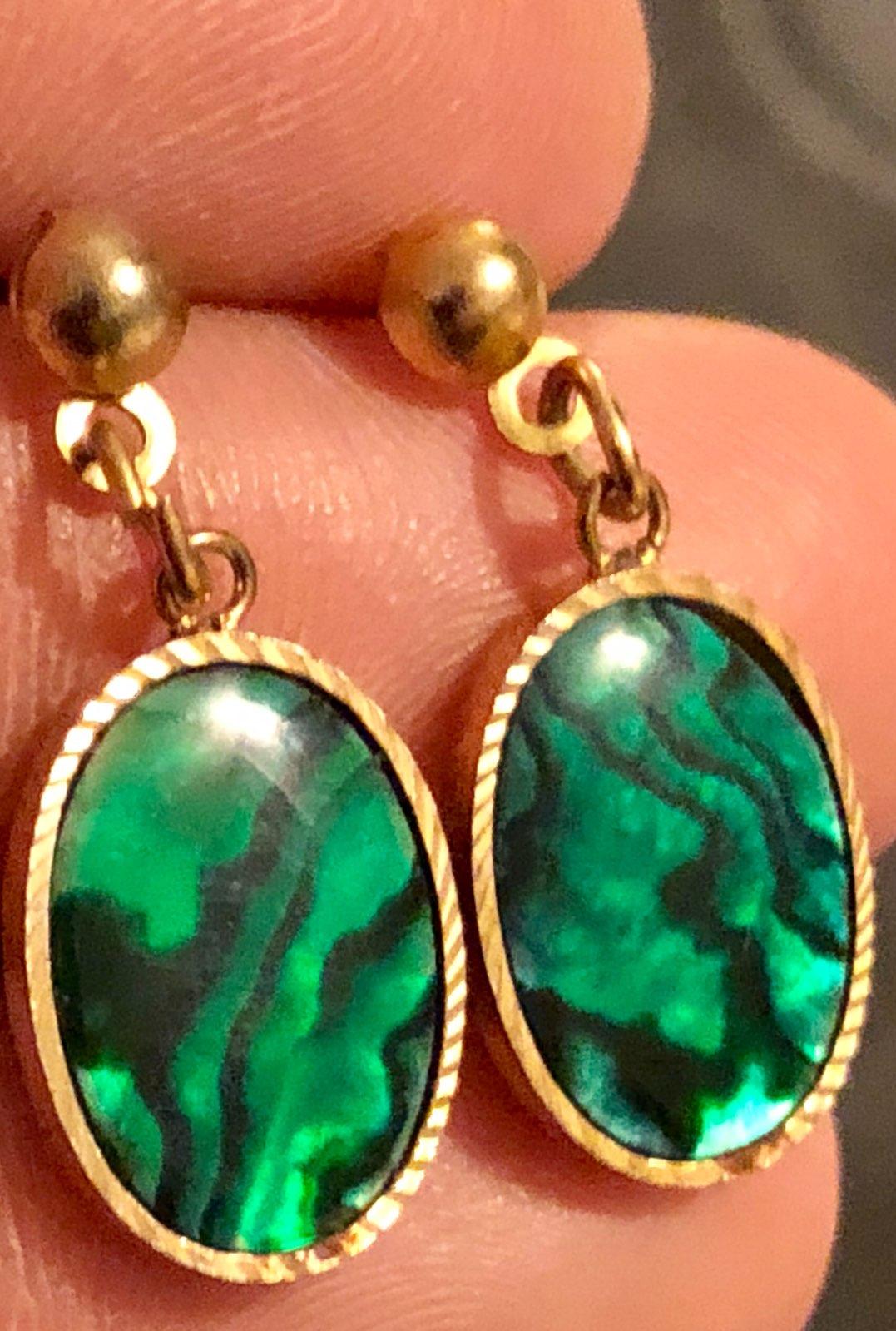 Beautiful Green Earrings - Mercari: BUY & SELL THINGS YOU LOVE