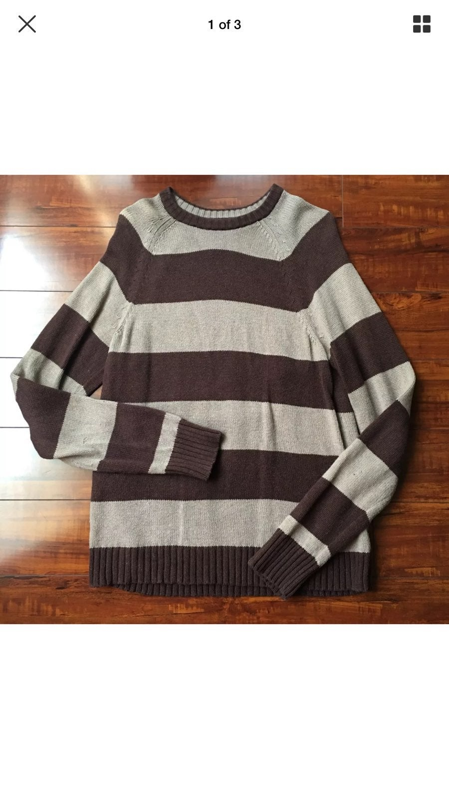 Men's Old Navy Striped Sweater Size Med - Mercari: BUY & SELL ...