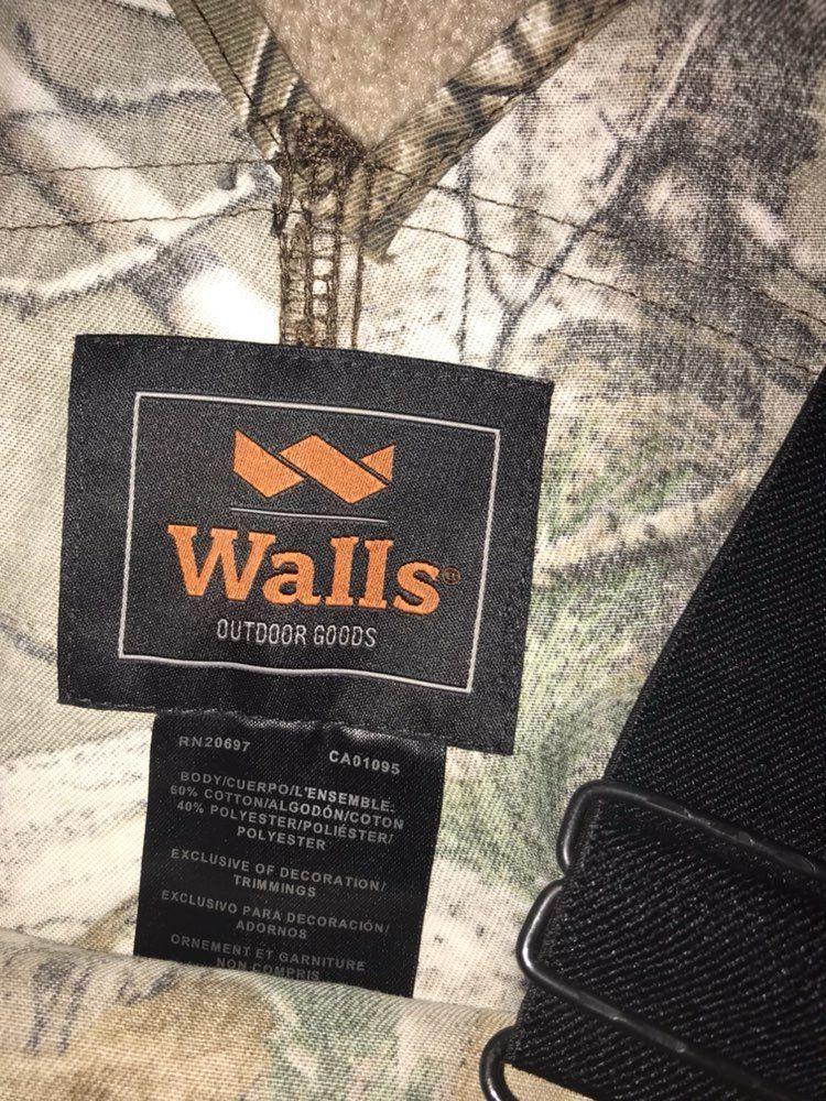 WALLS Men's Camo Overalls