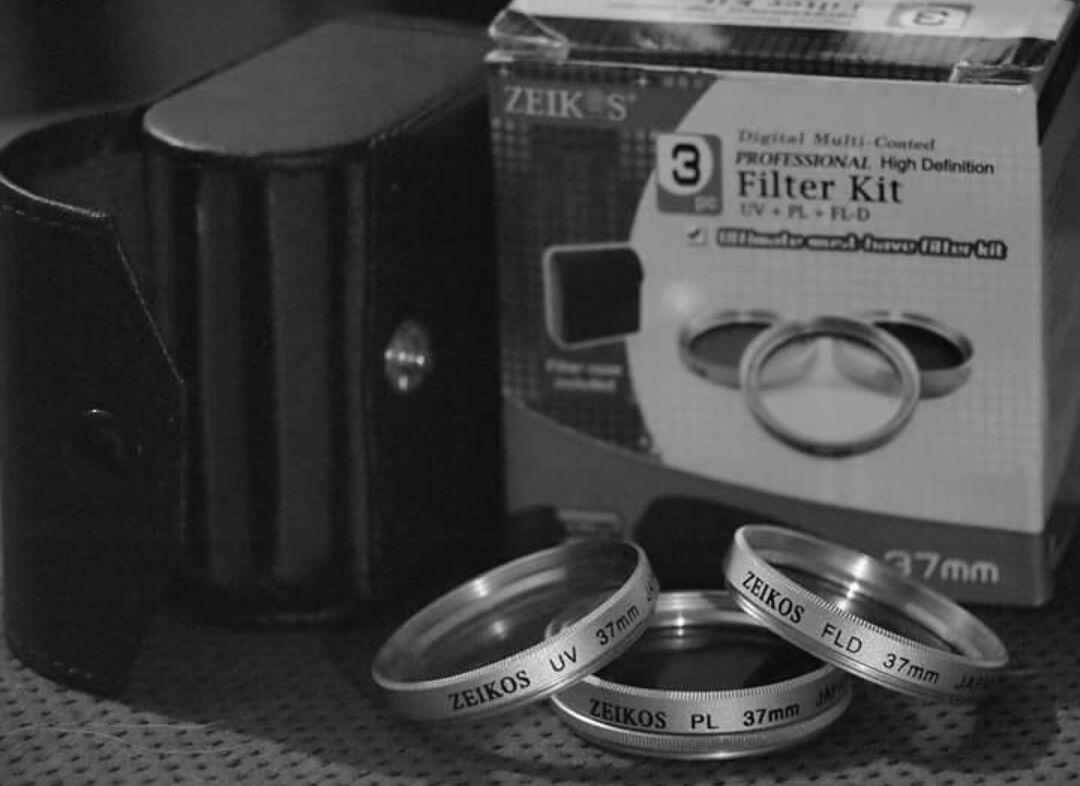 Zeikos 3pc Pro. HD 37mm Filter Kit