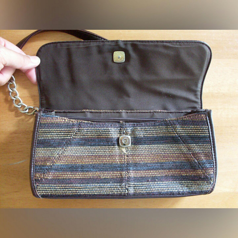 Cute Liz Claiborne purse, woven pattern