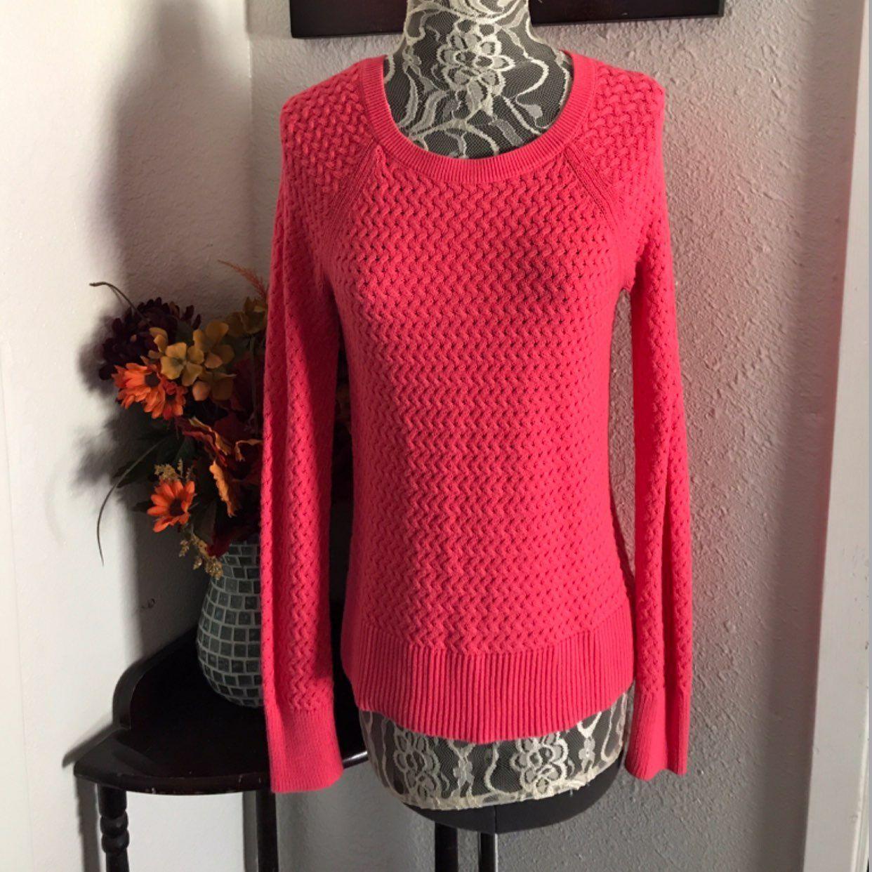 AE Pink Sweater W/ Back Zipper - Mercari: BUY & SELL THINGS YOU LOVE