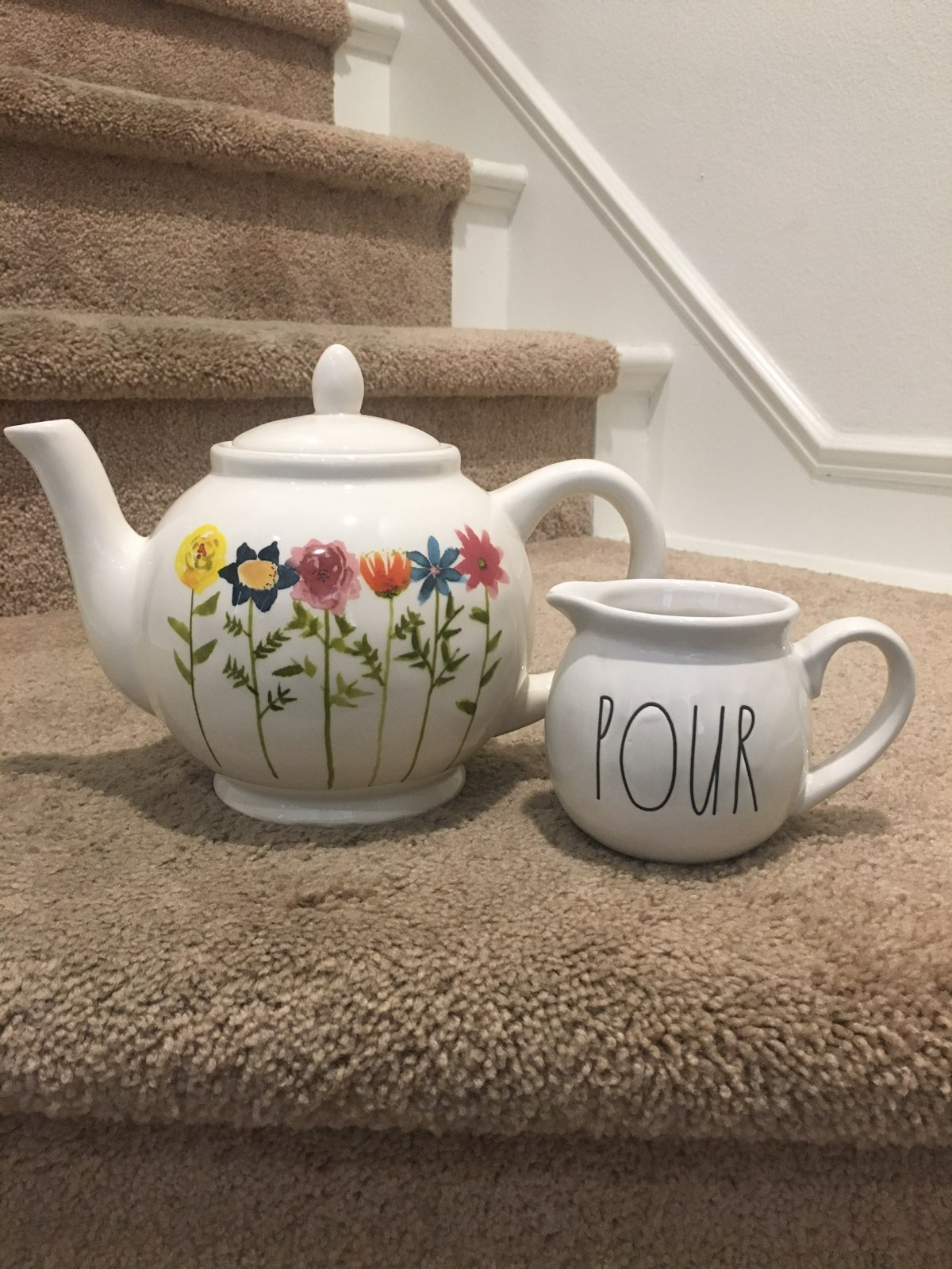 Mothers Day Teapot And Baby Pour