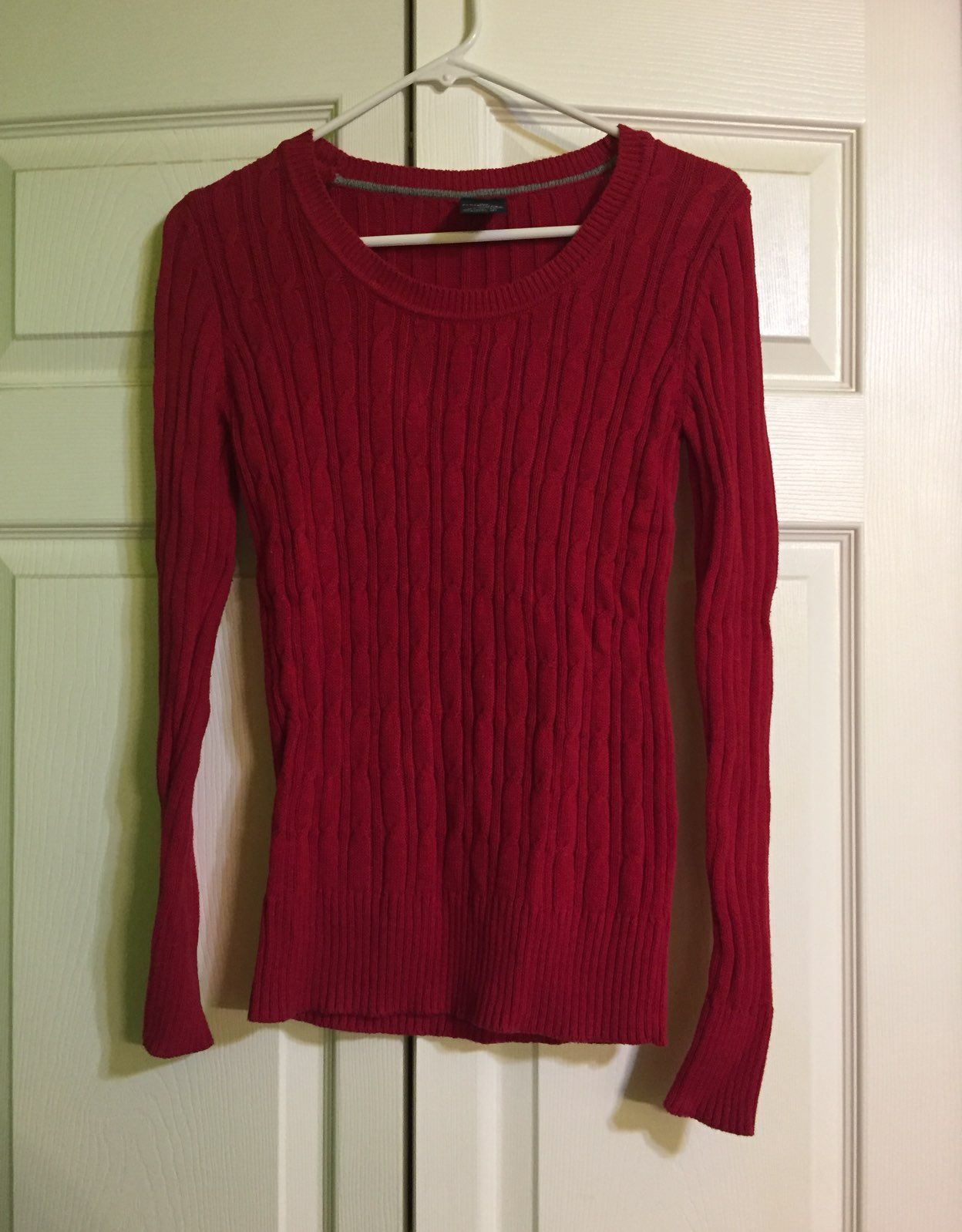 Red Sweater - Mercari: BUY & SELL THINGS YOU LOVE