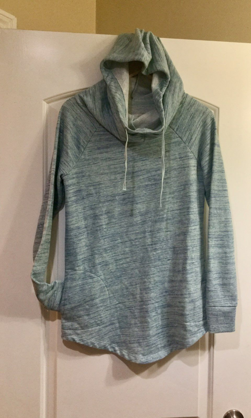 Mossimo Hooded Cowl Neck Pocket Sweater - Mercari: BUY & SELL ...