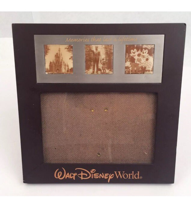 walt disney world frame 4 x 6 - Disney World Picture Frames