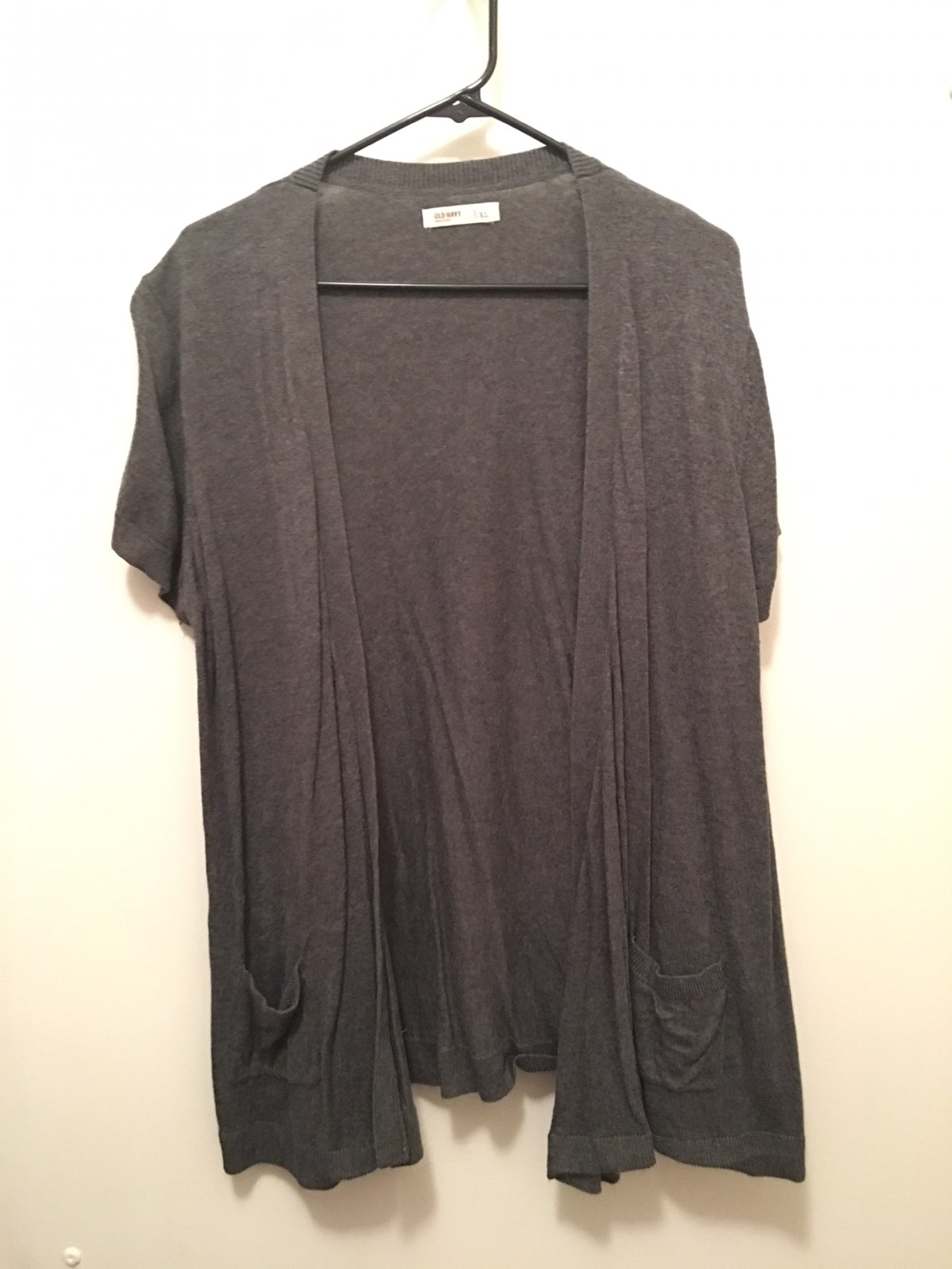 Women's Size XL Short Sleeve Cardigan - Mercari: BUY & SELL THINGS ...