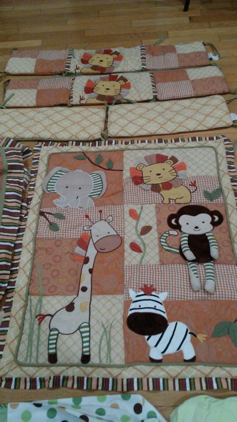 CoCaLo Baby Nursery 9 pieces Bedding