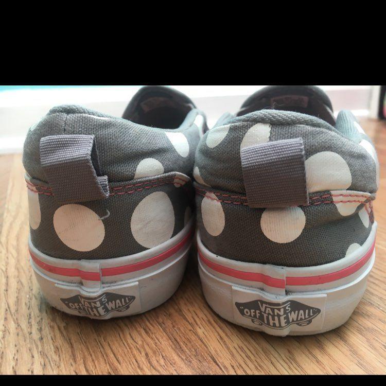 Vans Polka Dot Authentic Kids Shoes
