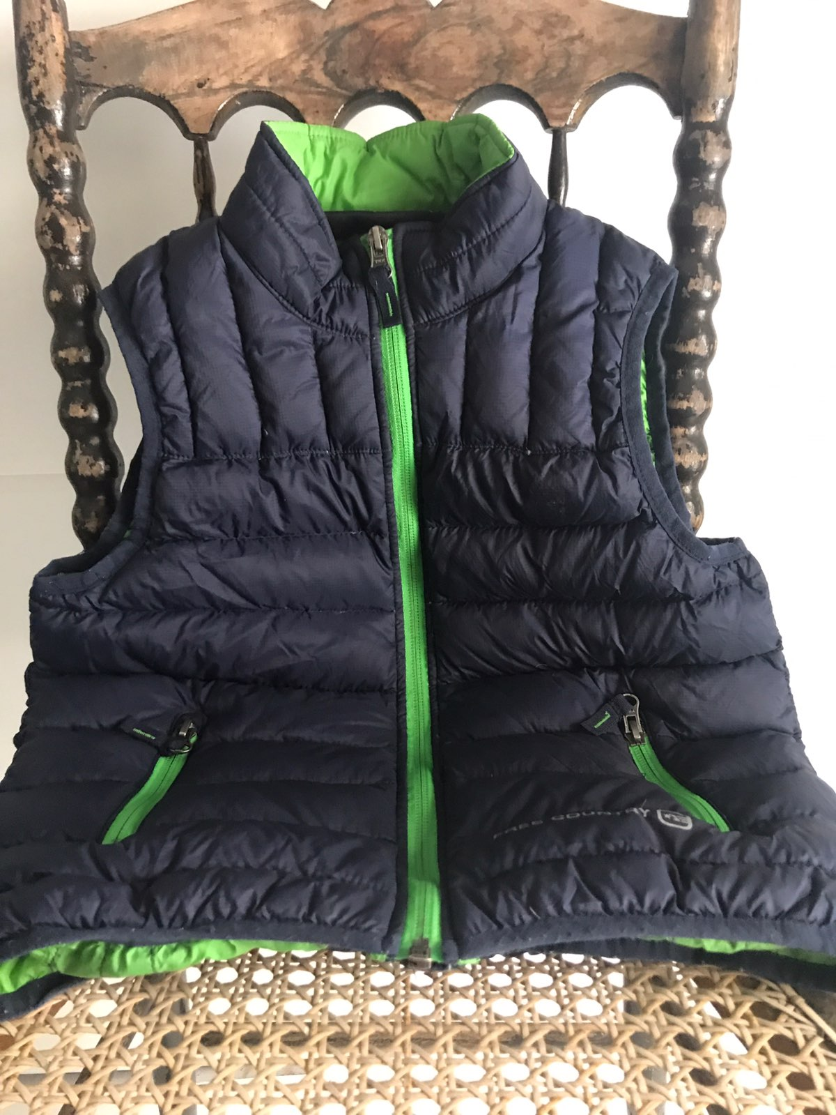 Boys 7/8 Free Country Down Vest