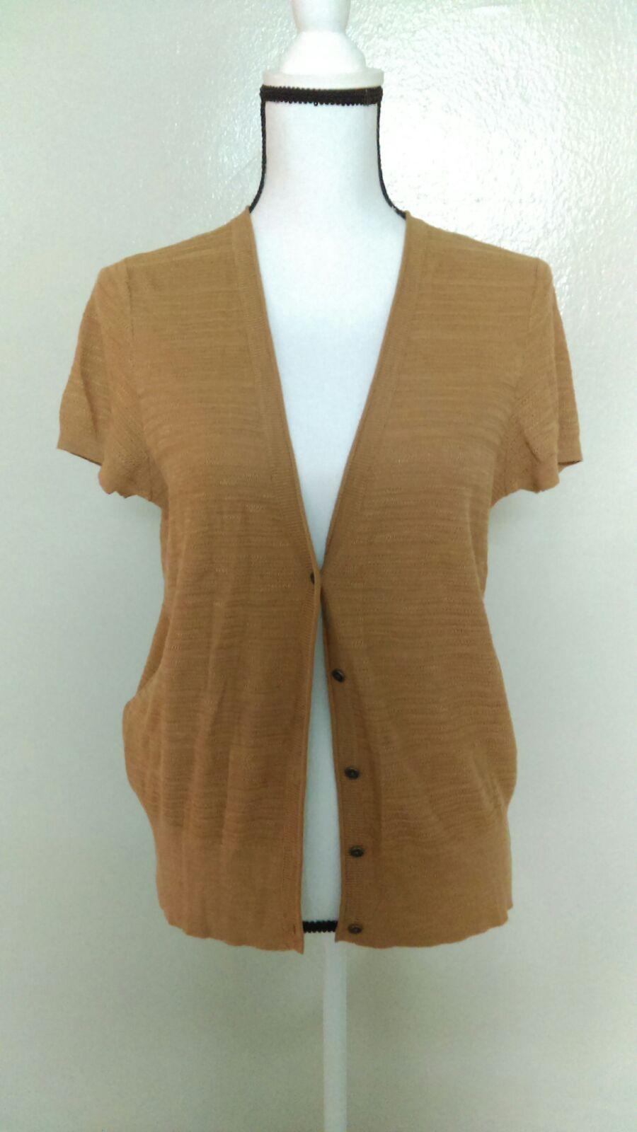 Ann Taylor Loft Short Sleeve Cardigan - Mercari: BUY & SELL THINGS ...