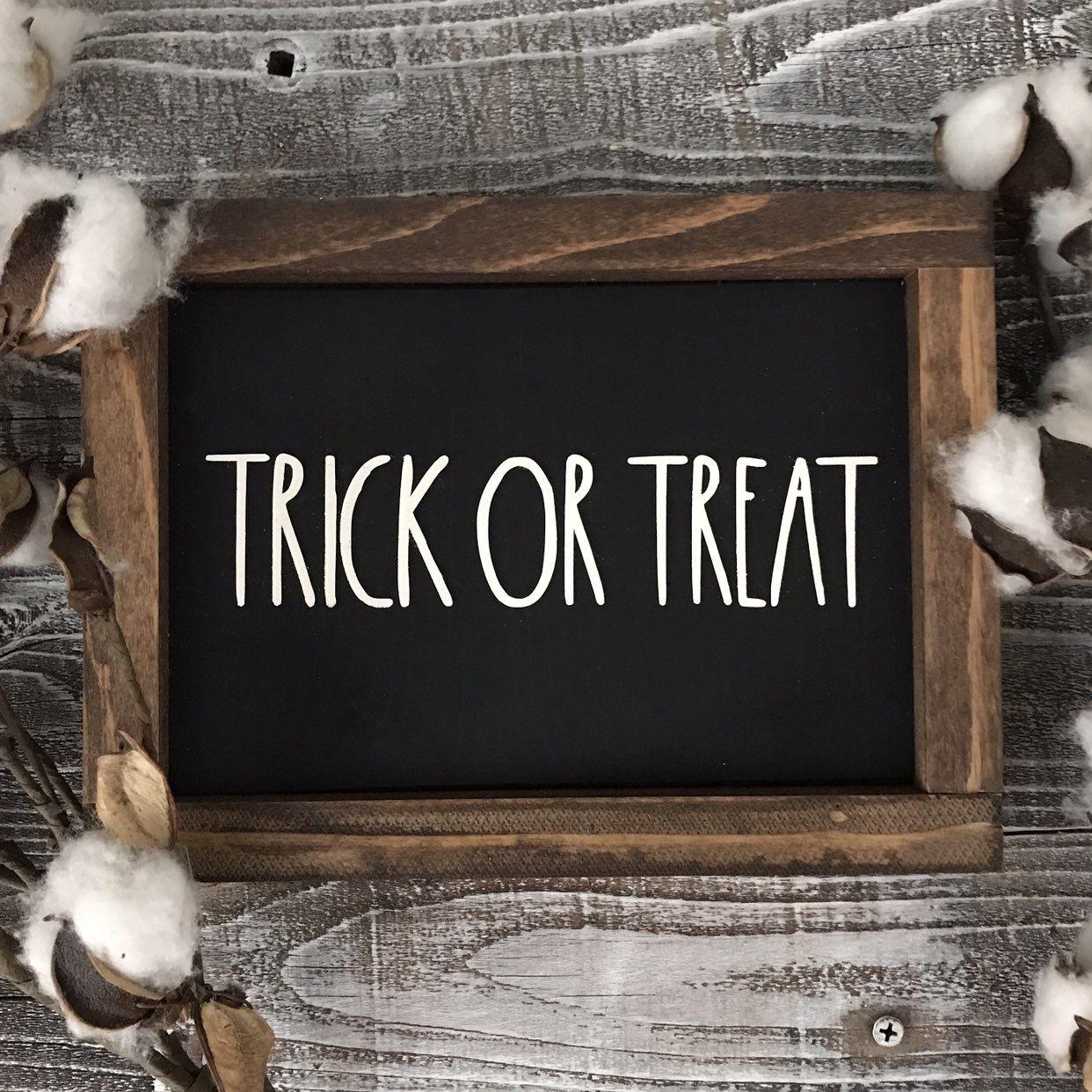 Rae Dunn Inspired Halloween Fall Sign