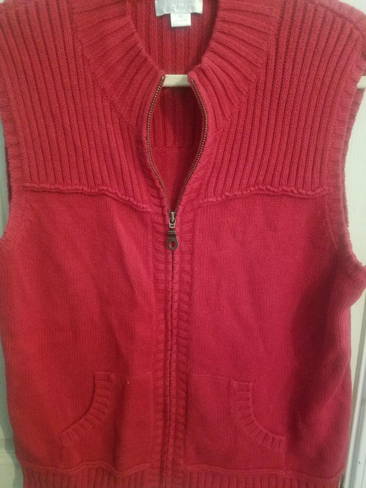 Ladies xlarge sweater vest - Mercari: BUY & SELL THINGS YOU LOVE