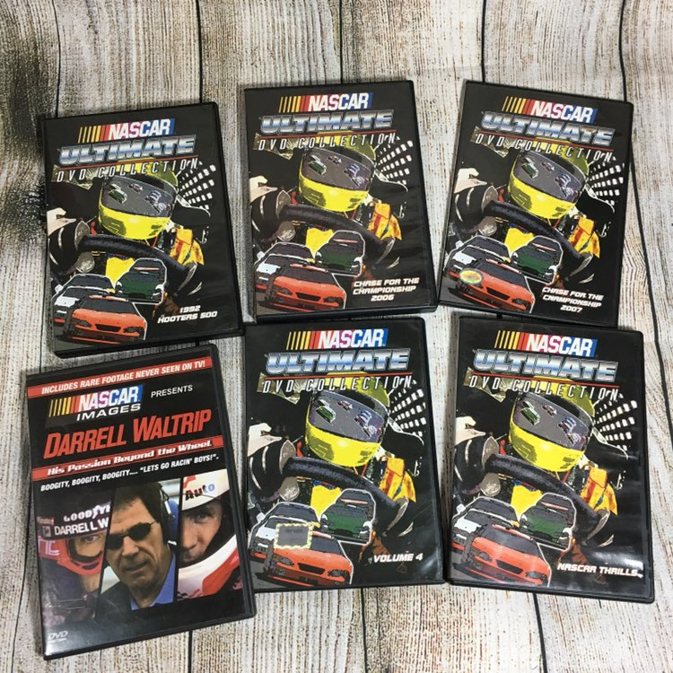 NASCAR Ultimate Collection DVD Movie Lot