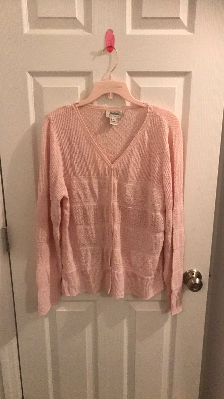 $69Free Ship Neiman Marcus Pink Sweater - Mercari: BUY & SELL ...