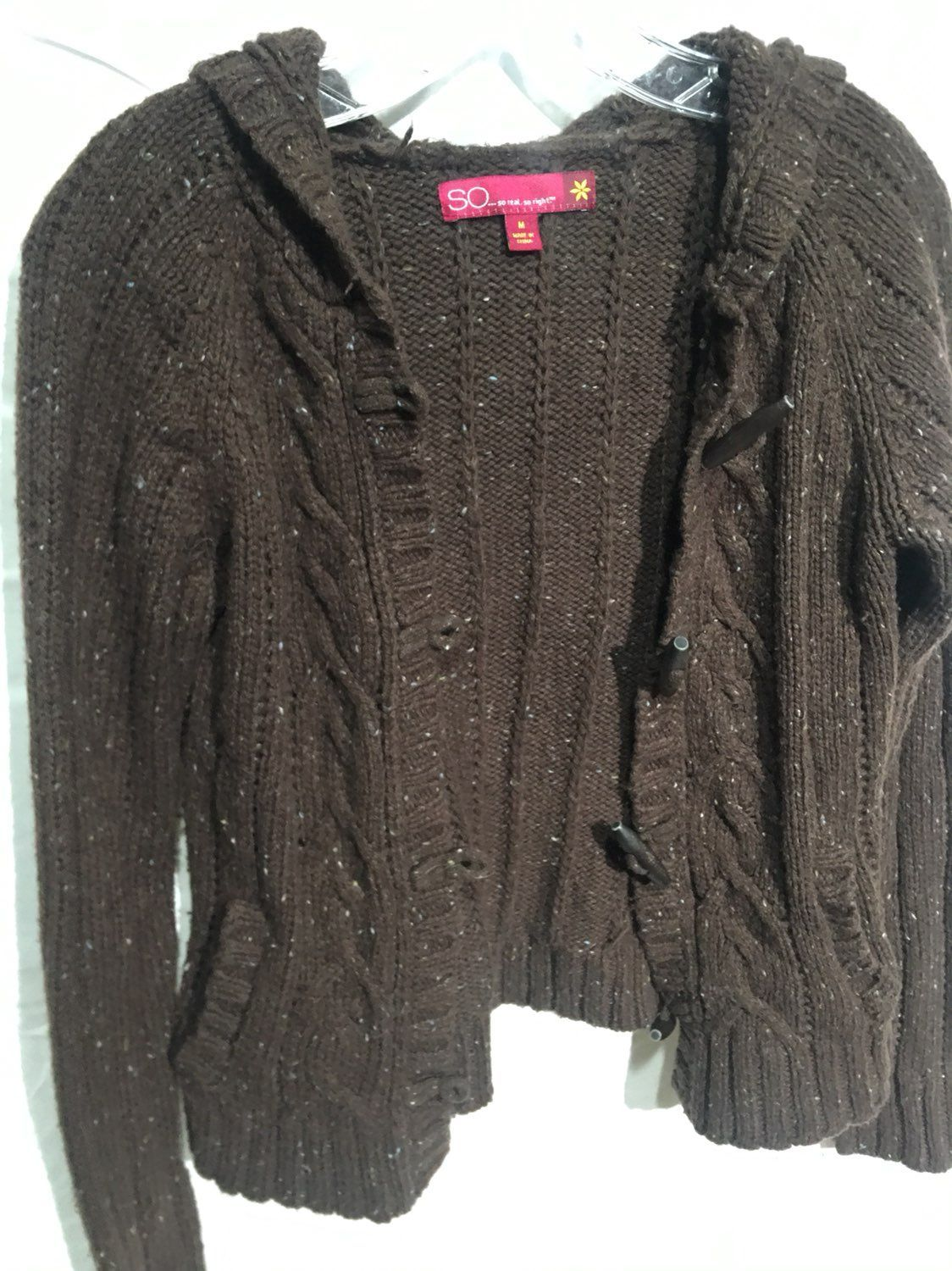 Brown Button Up Cardigan Women's - Mercari: BUY & SELL THINGS YOU LOVE