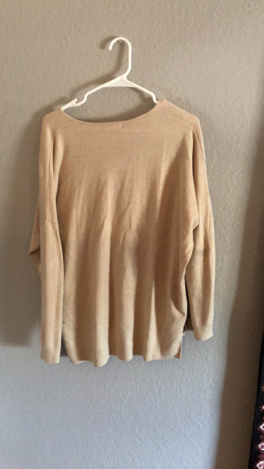 Light tan sweater - Mercari: BUY & SELL THINGS YOU LOVE