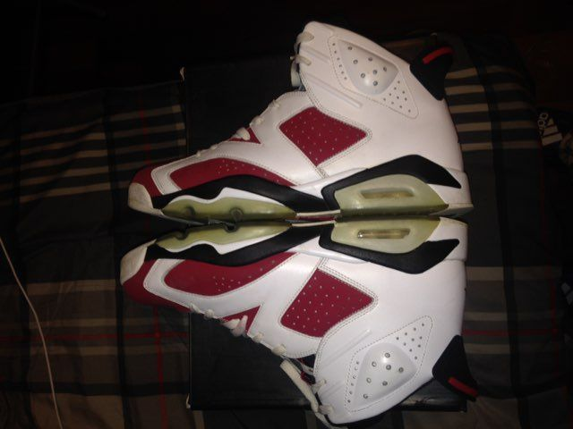Air Jordan Carmine 6s Size 13