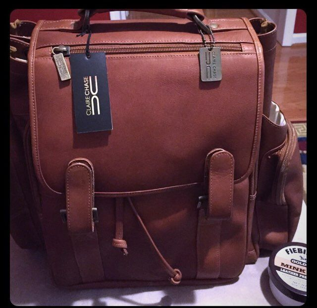 Clair Chase Jumbo Leather Backpack - Mercari: BUY & SELL THINGS ...