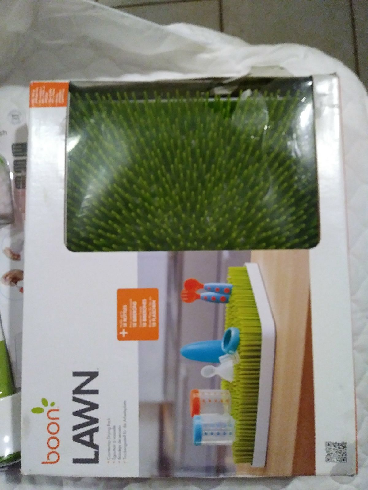 Boon Lawn Drying Rack and Bottle Brush
