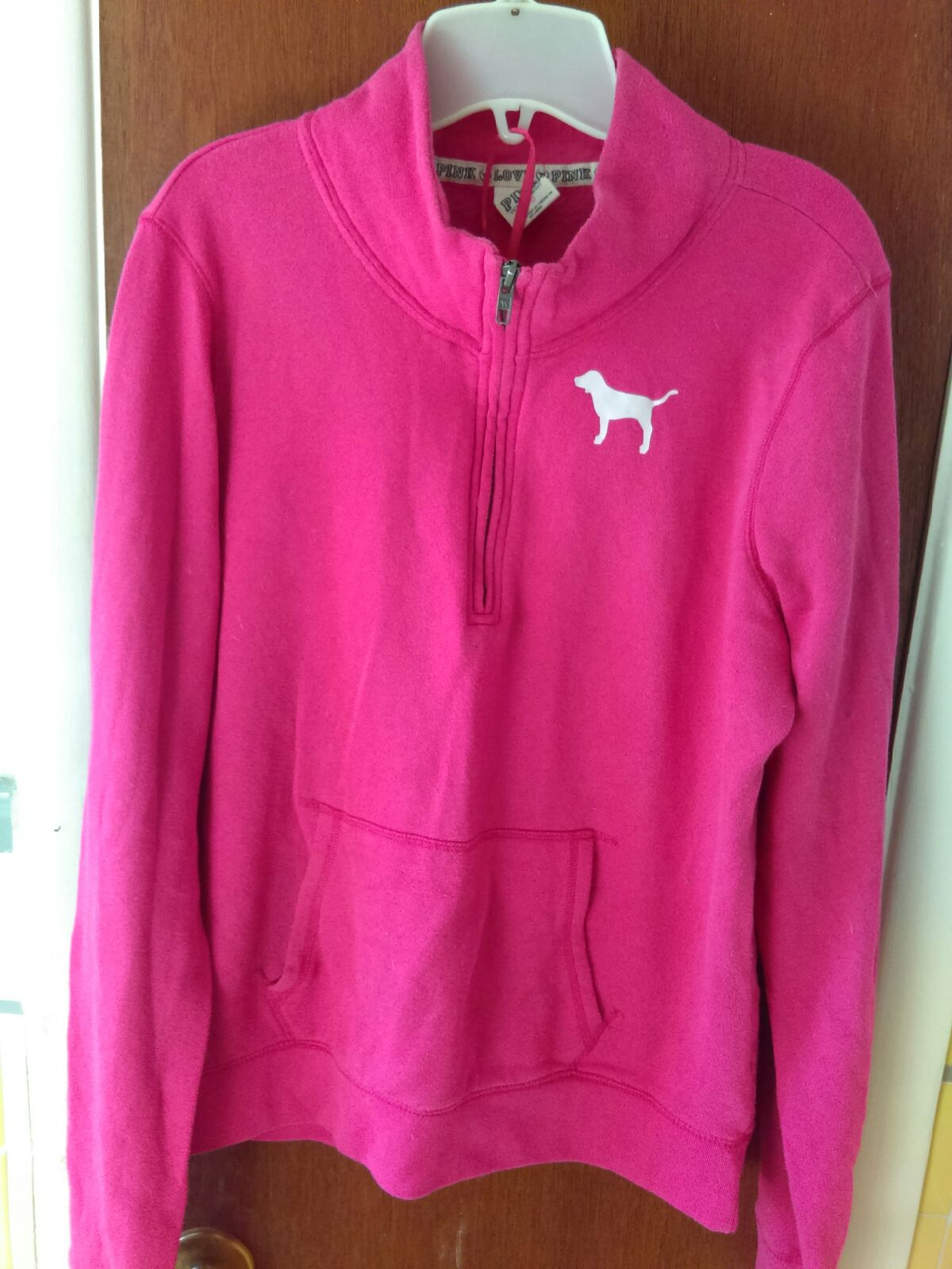 victoria's secret Love pink sweatshirt - Mercari: BUY & SELL ...