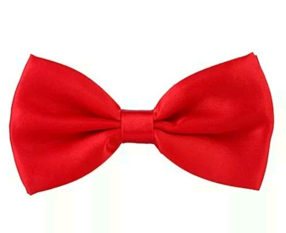 Red bow tie or bandana