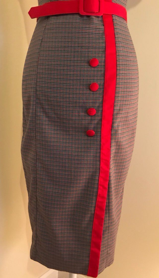 Dixie fried secretary dress image