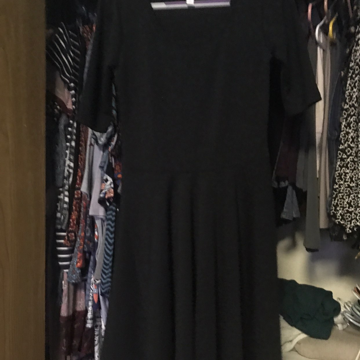 LulaRoe Solid Black Medium Nicole
