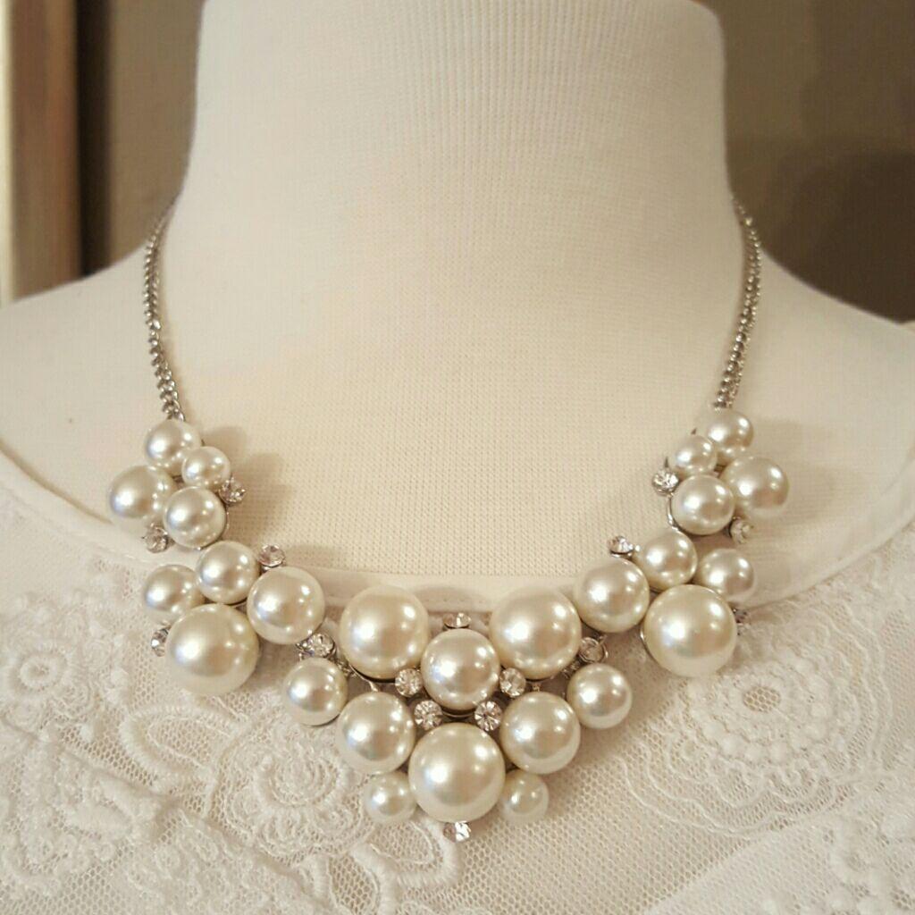 Fashion bubble necklace/ earring set
