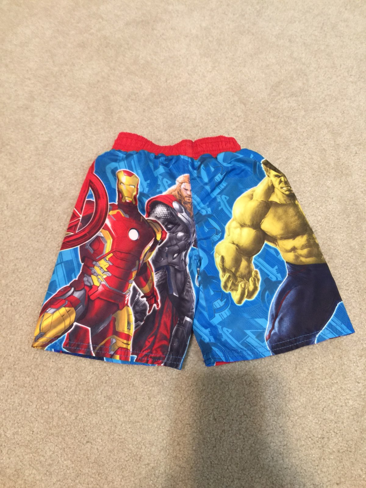 Marvel Avengers Boys Swimsuit 3T