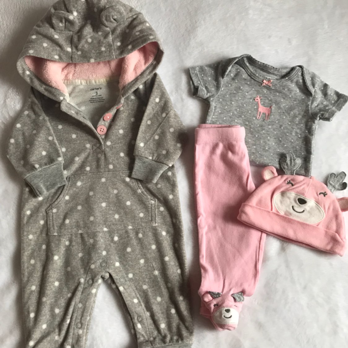 Carter's 3 Month Baby Girl Outfits