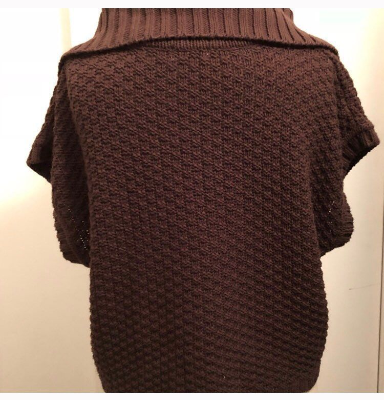 Liz & Co. Petite Brown Sweater - Mercari: BUY & SELL THINGS YOU LOVE