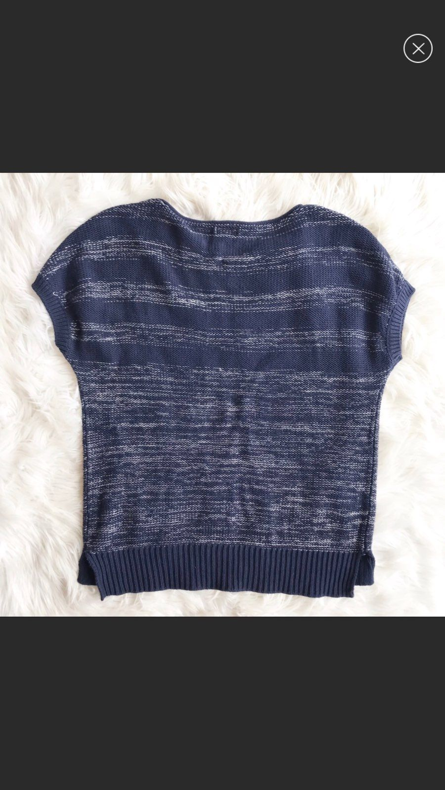 Gap Navy Blue Sweater - Mercari: BUY & SELL THINGS YOU LOVE
