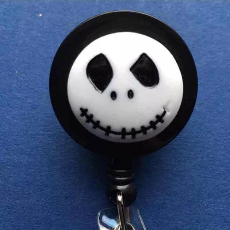 Jack Nightmare Christmas ID Badge Holder