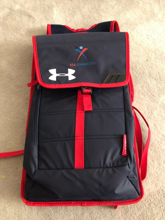 under armour usa gymnastics backpack