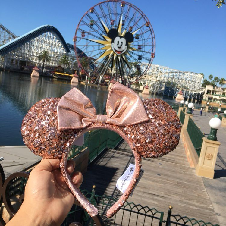 disneyland rose gold ears mercari buy sell things you love. Black Bedroom Furniture Sets. Home Design Ideas