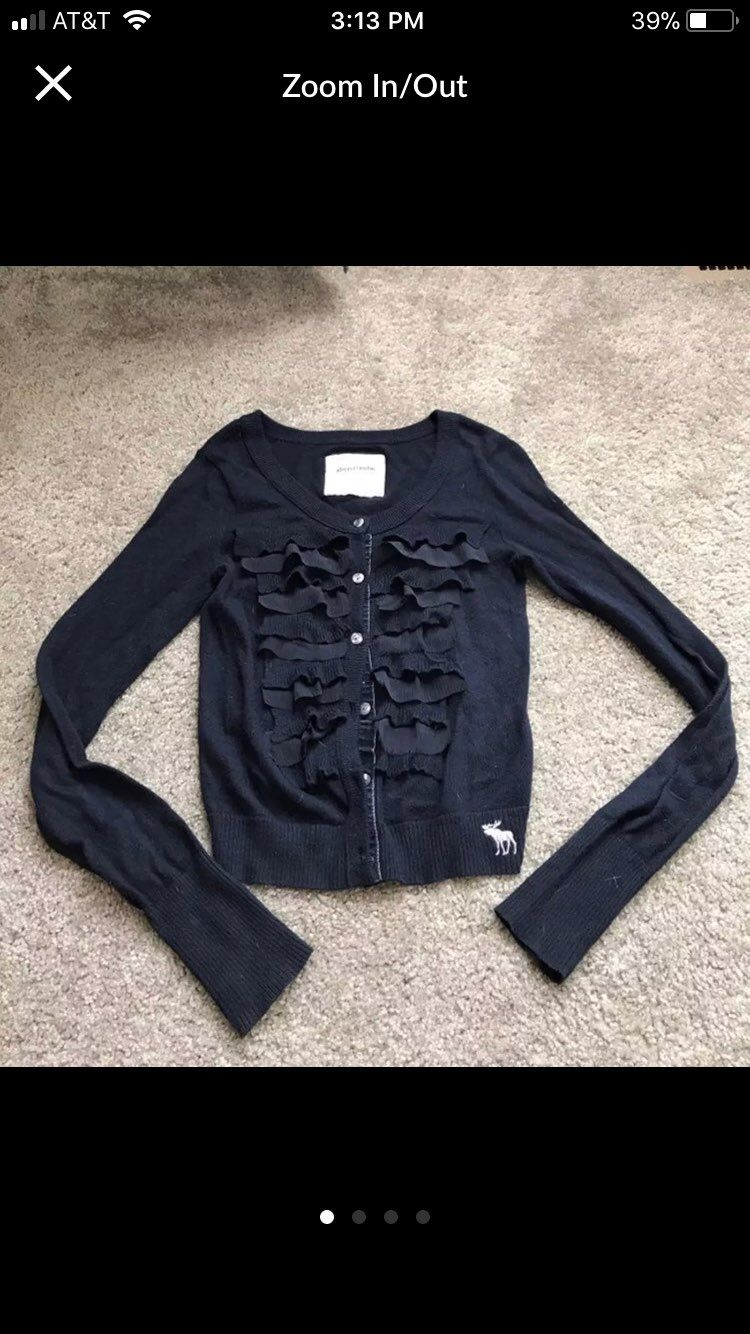 A&F Navy Blue cardigan Size XS - Mercari: BUY & SELL THINGS YOU LOVE